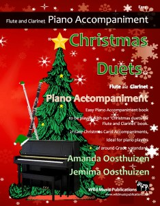 Christmas Duets for Flute and Clarinet Piano Accompaniment