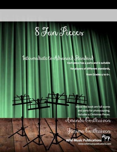 8 Fun Pieces (A Book for Intermediate Ensembles)