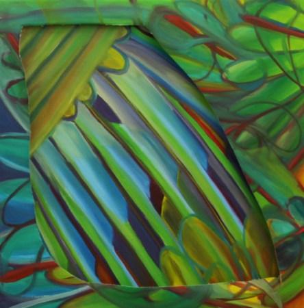 Oil on canvas - 2015 40cm x 40 cm