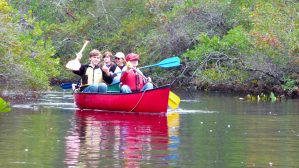 Canoe Adventures with the Scouts