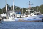 Shrimp Boats on the Bon Secour River
