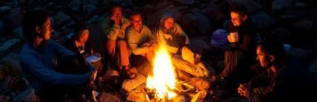Survival Mentoring Feuer Menschen