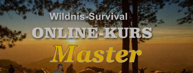online kurs wildnis survival master