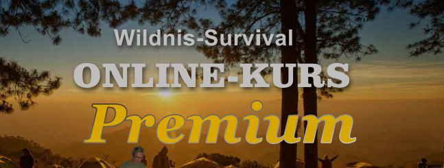 online kurs wildnis Survival premium