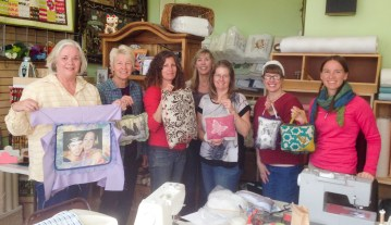 door hanger pillow sewing class