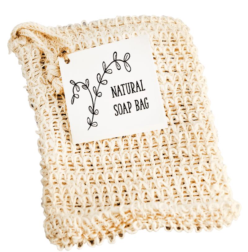 WILD Organic Skincare Natural Soap Bag