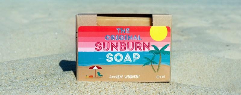 WILD Sunburn Soap