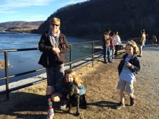 Holiday hike at Harper's Ferry.