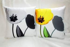 Wild Roots Art Pillow