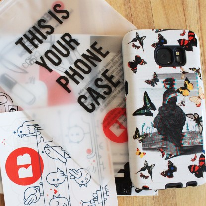 MAsked Woman Phone Case