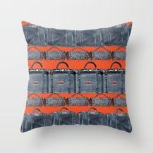 Throw Pillow (orange)