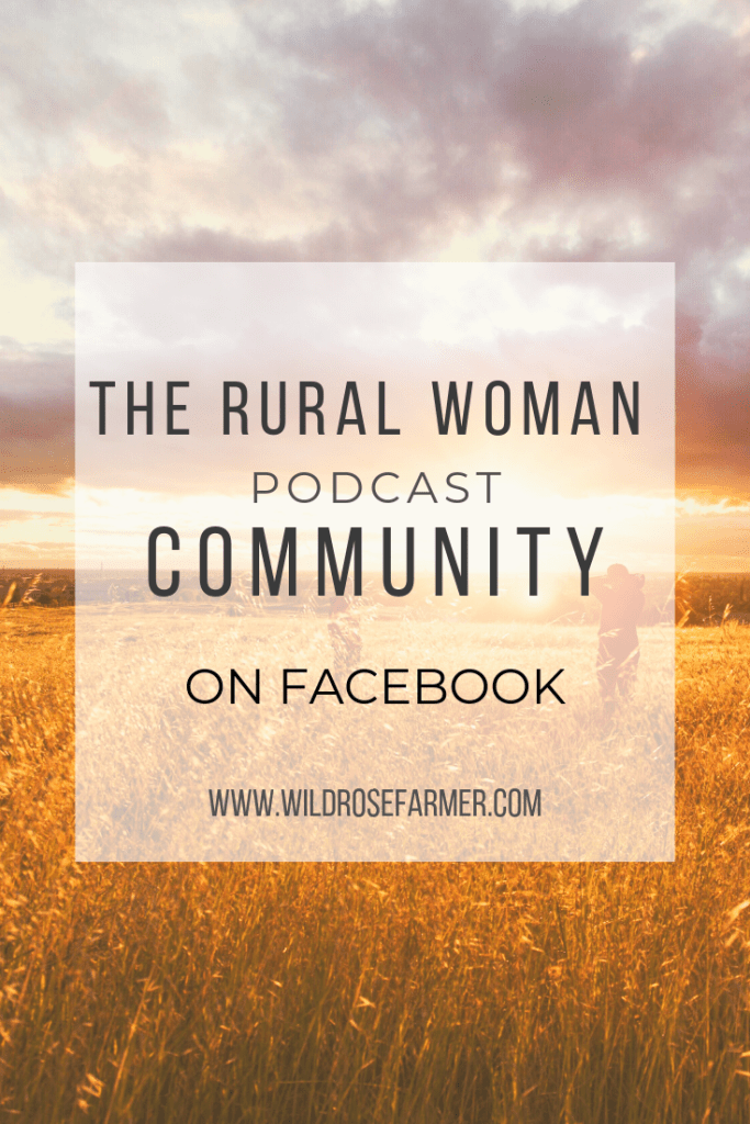 The Rural Woman Podcast Community is an inclusive group for women in agriculture. We are here to support and be in community with one another. We may not farm, ranch, or homestead the same and that's okay! We are here to learn from each other and encourage one another. Everyone welcome!