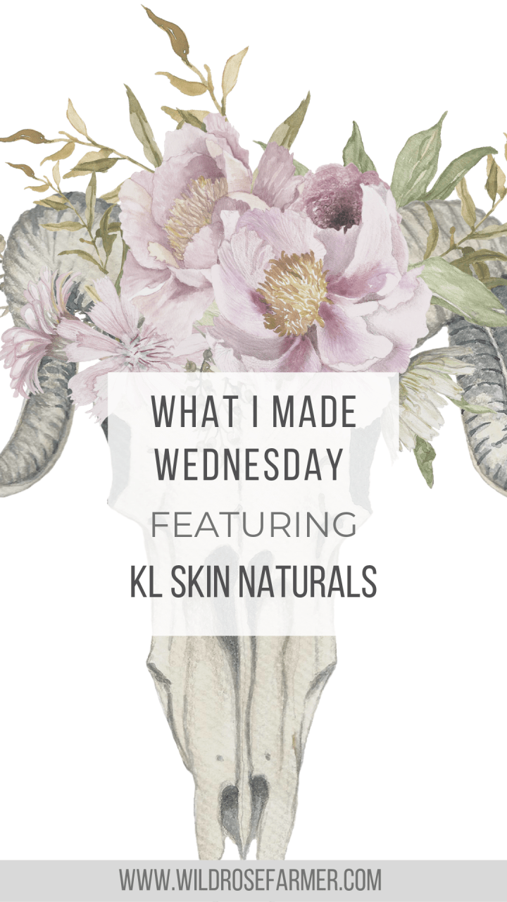 Award Winning Hand Made Natural Deodorant: KL Skin Naturals