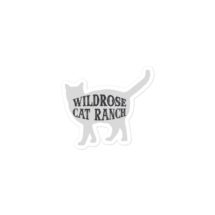 Wildrose Cat Ranch Cat Sticker