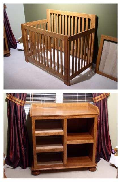 crib change table