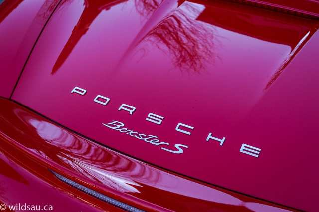 Boxster badge