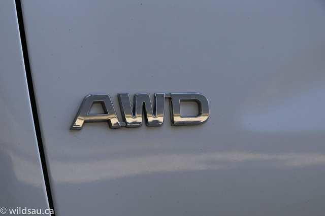 AWD badge
