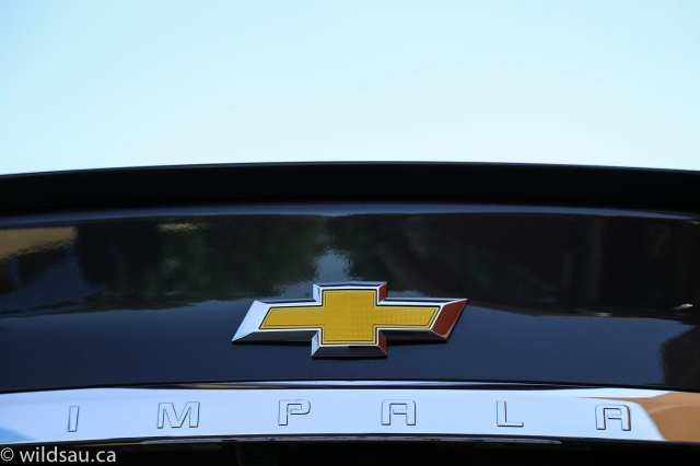 rear Impala badge
