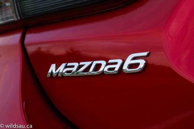 Mazda6 badging