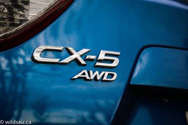CX-5 badge