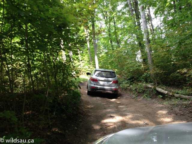 Sante Fe XL offroad uphill