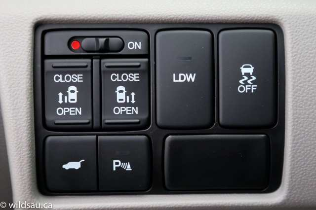 door parking LDW buttons