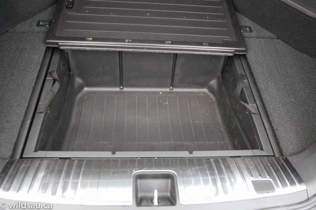 trunk underfloor storage