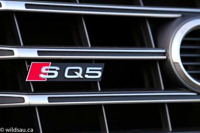 SQ5 grille badge