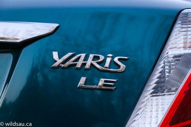 Yaris badge