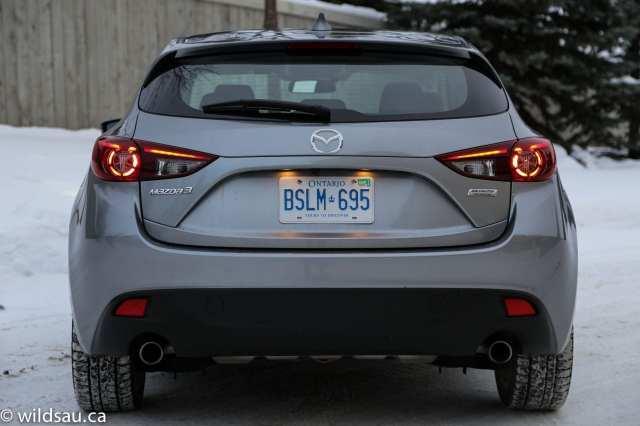 rear profile lights on