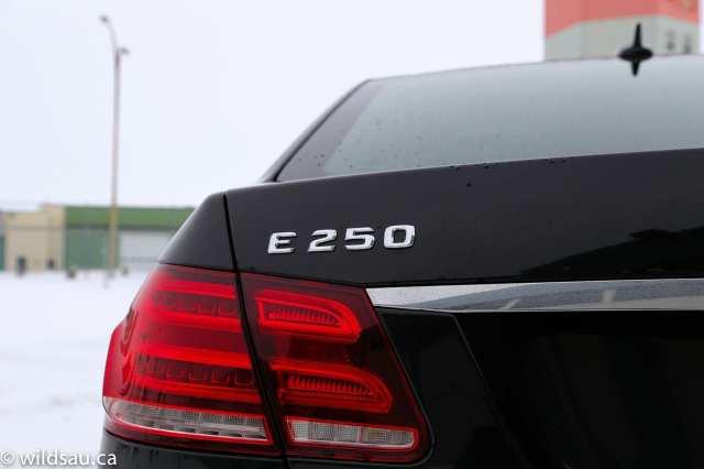 E250 badge