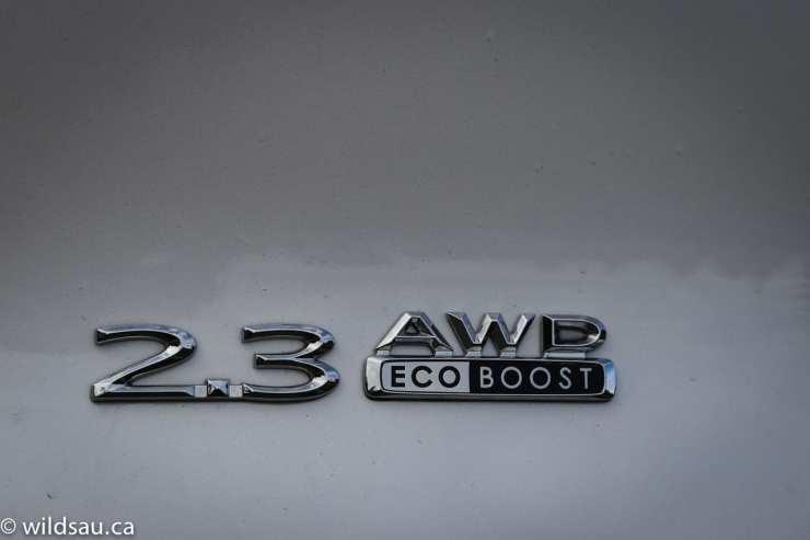 2.3 EcoBoost badge