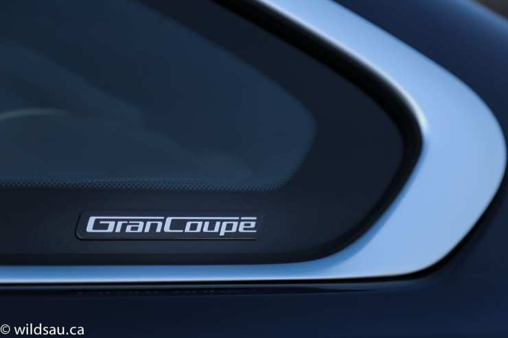 Gran Coupe badge