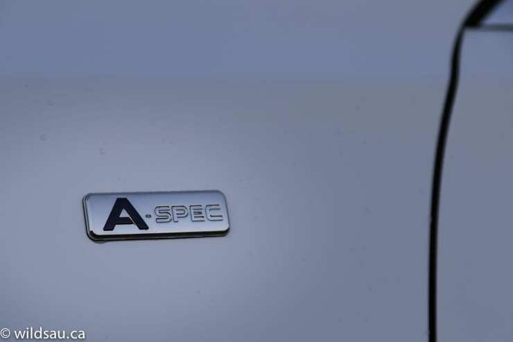 A spec badge