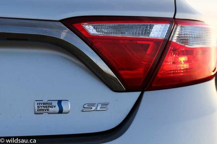 SE badge tail light