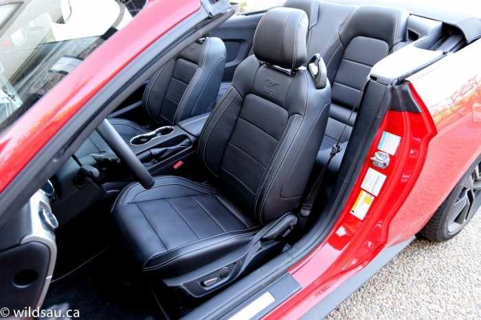 convertible front seats