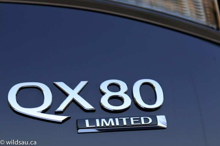 QX80 badge
