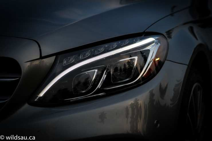 headlight dark