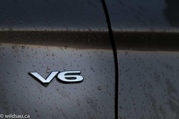 V6 badge