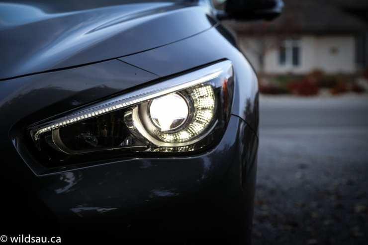 headlight dusk