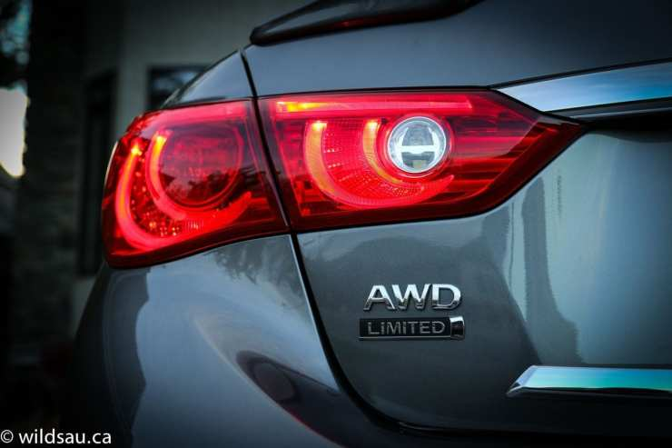 tail light AWD badge