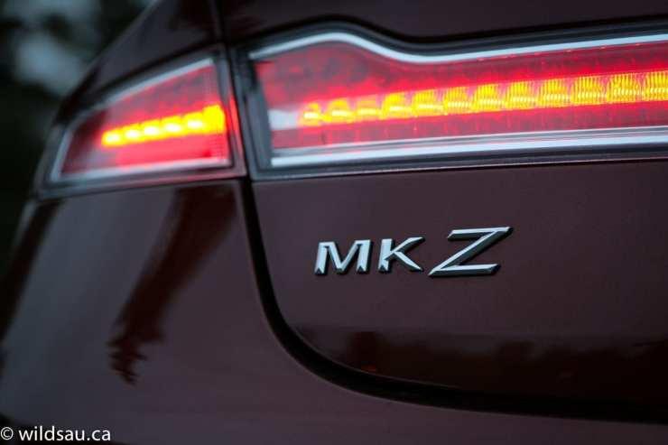 MKZ badge