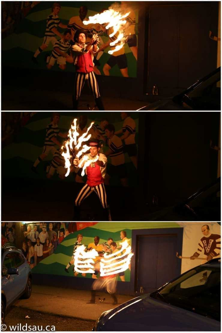 fire eater collage 2
