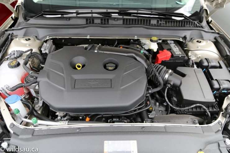 EcoBoost engine bay