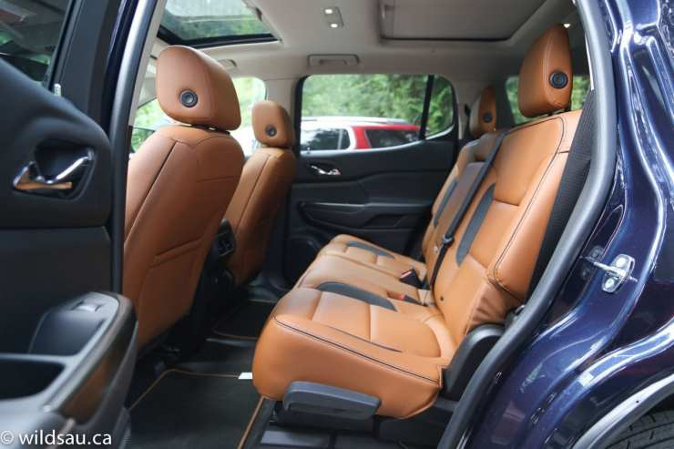 All Terrain two tone rear seats