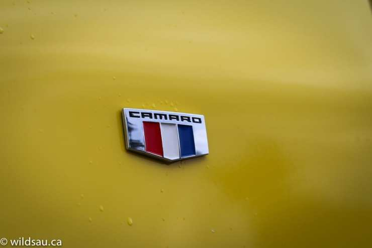 camaro badge