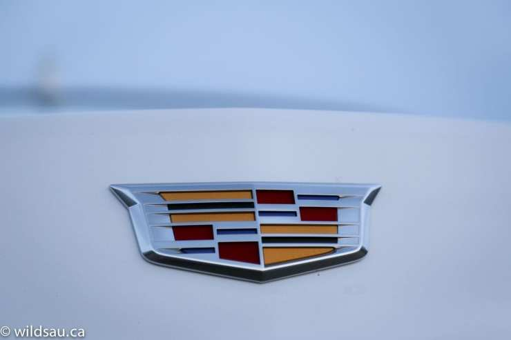 colour cadillac badge