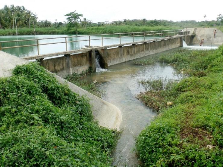 resevoir buhing kalipay river tours siargao san isidro bito river tour