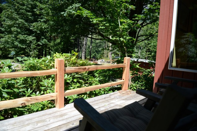 Porch off the Bedroom