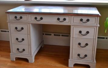 Paris Gray Desk